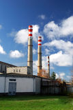 industriell fabrik Royaltyfri Foto