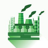 Industriell fabrik V 10 Royaltyfria Foton