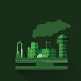 Industriell fabrik V 11 Royaltyfria Bilder