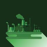 Industriell fabrik V 13 Arkivbild