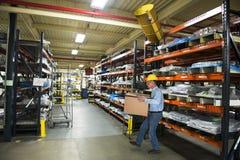 Industriell fabriks- fabriksskadaolycka Royaltyfri Foto