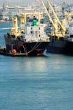 industriell fraktbåt Royaltyfria Bilder