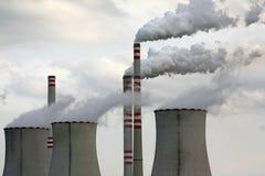 industriell förorening Royaltyfri Foto