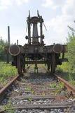 industriell gammal siding för område royaltyfri foto