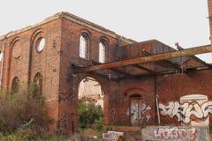 industriell grafetti Arkivbilder