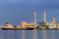 Industriell kemikalie för lasttransport Fotografering för Bildbyråer