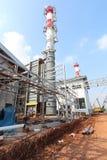 Industriell konstruktionskraftverk royaltyfri fotografi
