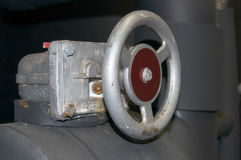 Industriell kontrollventil Arkivbild