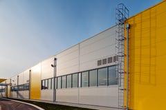 industriell korridor royaltyfri foto