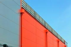 industriell korridor royaltyfri bild