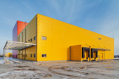 industriell korridor arkivbild