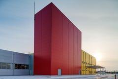 industriell korridor royaltyfria foton