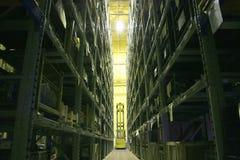 industriell lagring för fjärd Arkivfoton