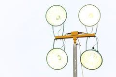 Industriell lampa Arkivfoto