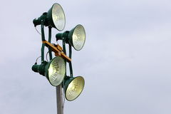Industriell lampa Royaltyfri Bild