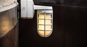 industriell lampa royaltyfri foto