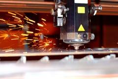 industriell laser Arkivbilder
