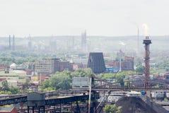 industriell liggande Arkivbilder