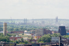 industriell liggande Arkivbild