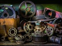 industriell livstid fortfarande royaltyfria foton