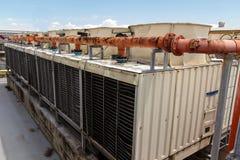 industriell luftkonditioneringsapparat arkivbilder