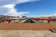 industriell luftkonditioneringsapparat Arkivfoton