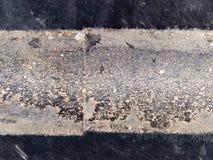 Industriell makrotextur - - gummihjul Royaltyfri Bild