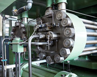 industriell maskin Royaltyfri Bild