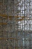 industriell material till byggnadsställning Royaltyfria Foton