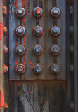 industriell metall Arkivfoto
