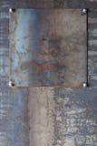 Industriell metallbakgrund Arkivbilder