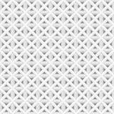 industriell mjuk vit sömlös vektorbakgrund för modell 3d stock illustrationer