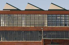 industriell modell Arkivbild