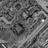 industriell monokrom utskrivaven textur Fotografering för Bildbyråer