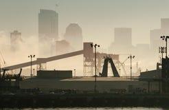industriell morgon Royaltyfri Bild