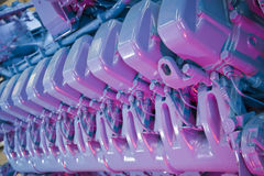 industriell motor Royaltyfri Fotografi