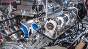Industriell motormaskin för tillverkande linje fotografering för bildbyråer