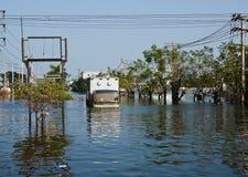 industriell nakorn nava thailand för fabriksflod Fotografering för Bildbyråer
