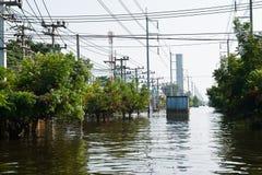 industriell nakorn nava thailand för fabriksflod Arkivfoton