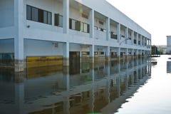 industriell nakorn nava thailand för fabriksflod Arkivfoto
