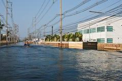 industriell nakorn nava thailand för fabriksflod Royaltyfri Fotografi