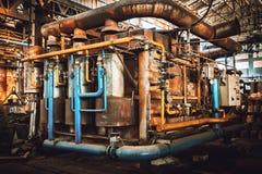 Industriell panna Arkivfoto