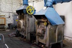 industriell panna Royaltyfria Foton