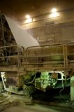 industriell paper press Royaltyfri Bild