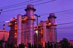 industriell petrochemical Arkivbilder