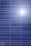 Industriell photovoltaic installationssolenergi Royaltyfri Foto