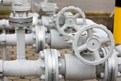 industriell pipeline Arkivbilder