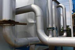 industriell pipeline Royaltyfri Fotografi