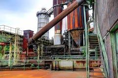 Industriell plattformnärbild Arkivbild