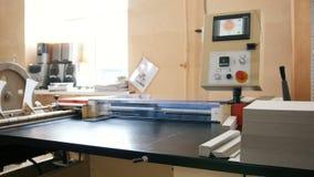 Industriell - polygrafbransch - printingmaskin stock video